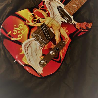 Custom Made Led Zeppelin Guitar by Carparelli for sale
