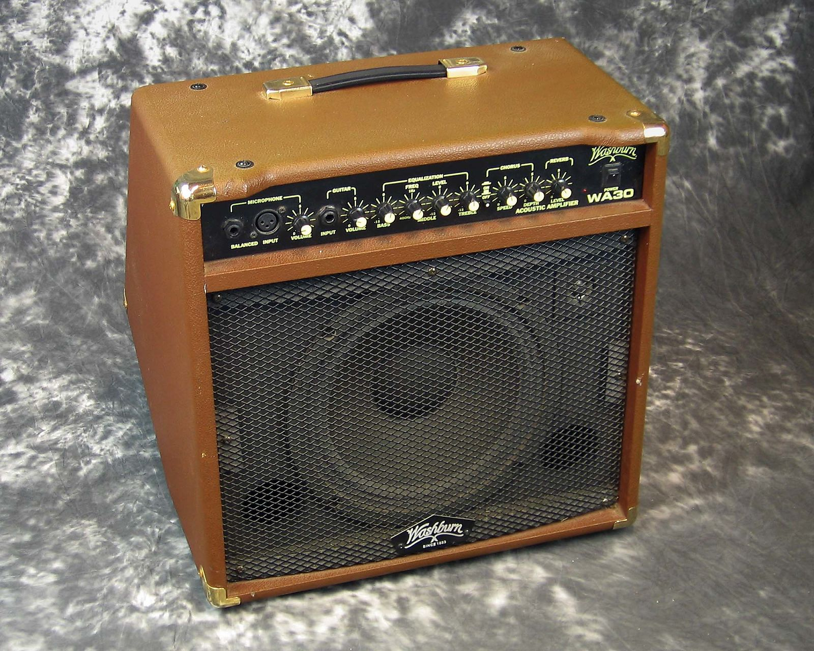 Vg Used Washburn Wa30 Acoustic Guitar Amplifier