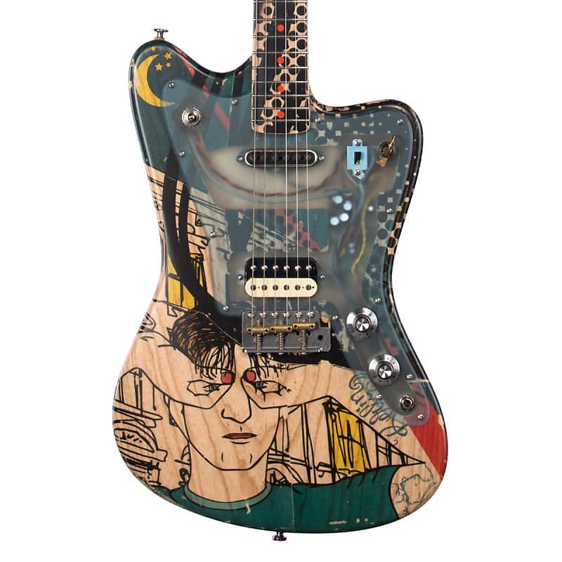 Deimel Guitarworks Firestar Artist Edition Berlin Tonight Offset