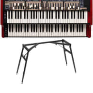 Nord C2D Portable Combo Organ + ALU Stand NEW FULL WARRANTY!