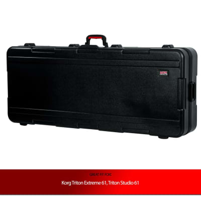 Gator Cases Deep Keyboard Case for Korg Triton Extreme 61, Triton Studio 61 Keyboards
