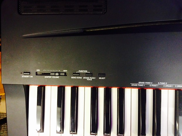 Yamaha p70 contemporary digital piano black reverb for Yamaha p85 contemporary digital piano
