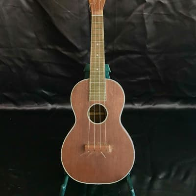 Rare Regal Concert Uke Solid Mahogany circa 1920 for sale