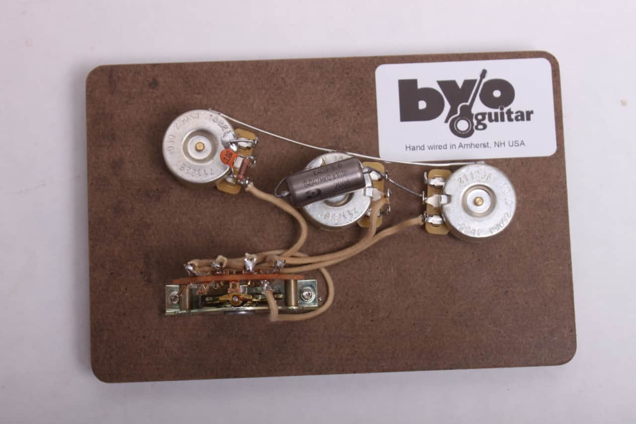 byoguitar stratocaster wiring harness byoguitar reverb. Black Bedroom Furniture Sets. Home Design Ideas