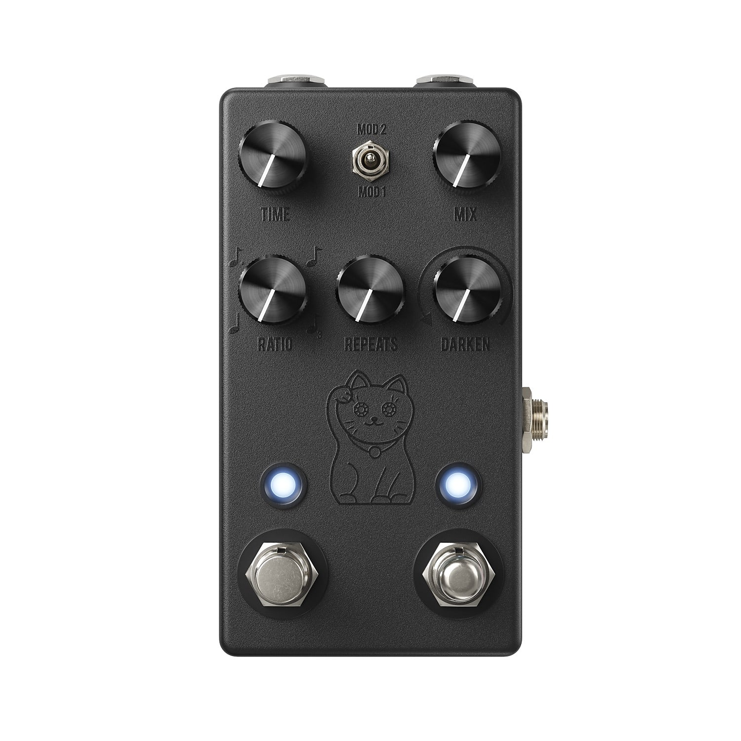 JHS Lucky Cat Delay Effects Pedal Black