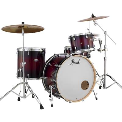 "Pearl Decade Maple 18""x16"" Floor Tom Drum  GLOSS DEEP REDBURST DMP1816F/C261"