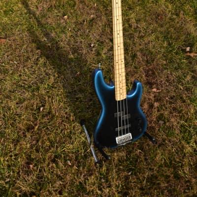Fender Precision Bass Plus Deluxe 1993 Blue Pearl Burst for sale