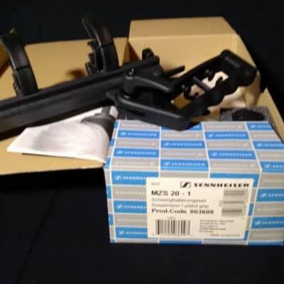 Sennheiser Shockmount Kit with Pistol Grip/Stand #MZS 20-1 MZS20-1 MZS-20-1 -[Open-Box-Mint]