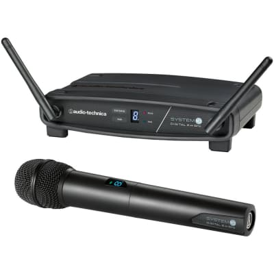 Audio Technica ATW-1102 System 10 Stack-Mount Digital Handheld Wireless System