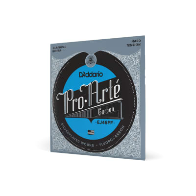 D'Addario EJ46FF Pro Arte Carbon Hard Tension Classical Guitar Strings