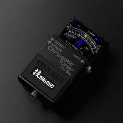 Boss TU-3w Chromatic Tuner Waza Craft Special Edition for sale
