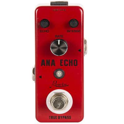 Rowin LEF-303 Ana Echo 300ms Analog Delay Guitar Effect Portable Mini Pedal True Bypass Ships Free