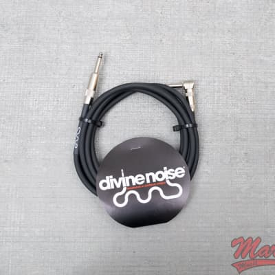 Divine Noise 15ft Black Cable Mixed Ends
