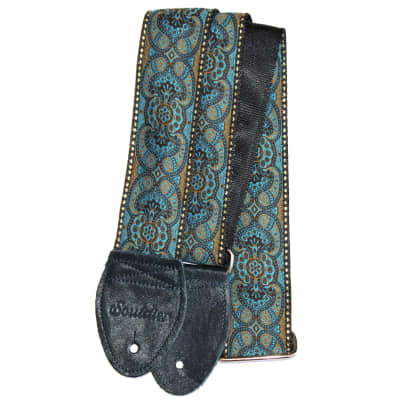 "Souldier 2.0"" Arabesque Custom Made Strap Turquoise"