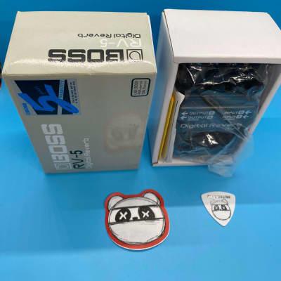 Boss RV-5 Digital Reverb w/Original Box | Fast Shipping!