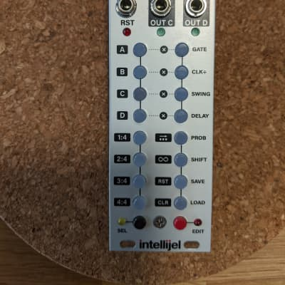 Intellijel  Steppy 3u 2010s Silver