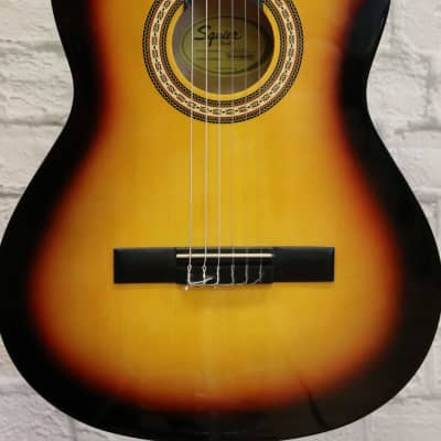 Fender Squier SA-150 Classical Guitar - Sunburst