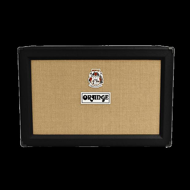 orange ppc212ob 2x12 open back speaker cabinet black reverb. Black Bedroom Furniture Sets. Home Design Ideas