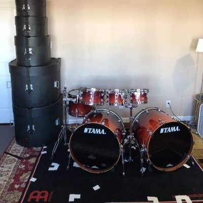 Tama Starclassic Performer B/B with Gator hard cases