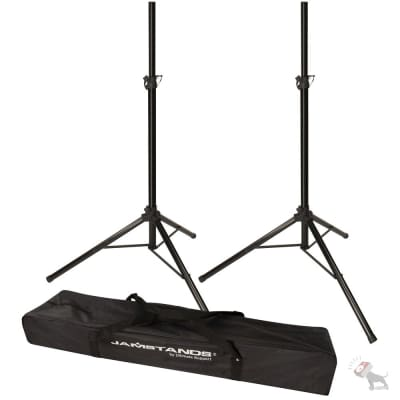 Ultimate Support JS-TS50-2 Pair of Tripod Speaker Stand with Free Carrying Bag