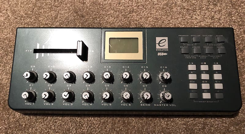 evolution x session midi controller rare reverb. Black Bedroom Furniture Sets. Home Design Ideas