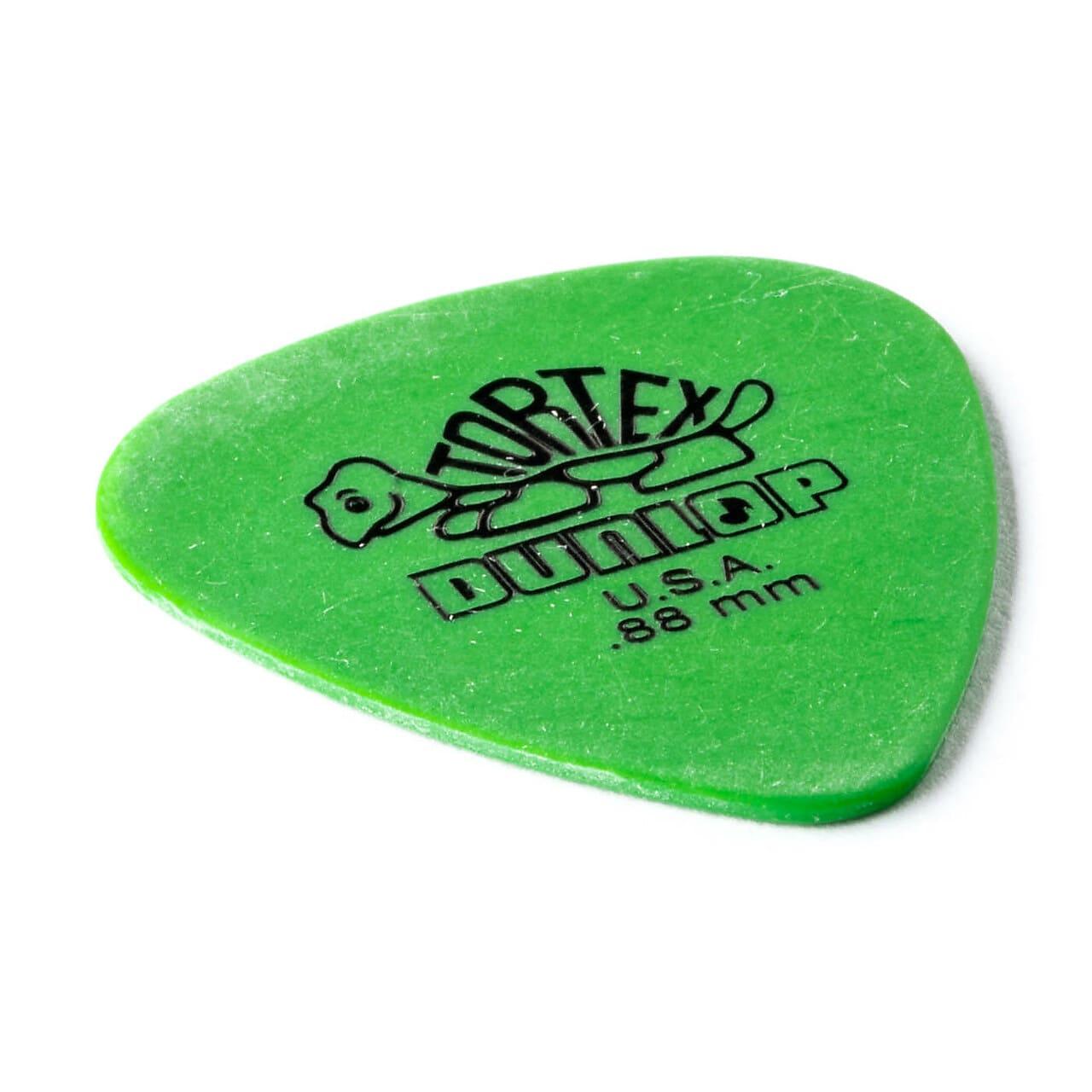 Dunlop 418P088 Tortex Standard Guitar Pick .88mm (12-Pack)