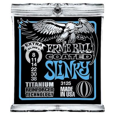 Ernie Ball 3125 Coated Extra Slinky Electric Guitar Strings