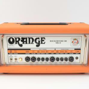 Orange Rockerverb 100 MKII 100-Watt Tube Guitar Amp Head