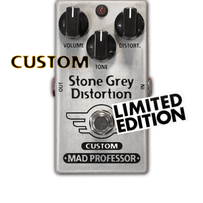 Mad Professor  STONE GREY DISTORTION MODERNIZED MOD, CUSTOM, LIMITED EDITION 2020