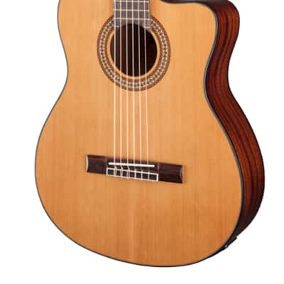 Jasmine by Takamine JC27CE-NAT Acoustic-Electric Cutaway Solid Classical Guitar for sale