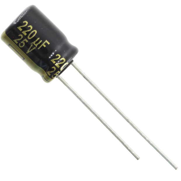 Capacitor Panasonic FC 100uf 25v Low Low Impedance