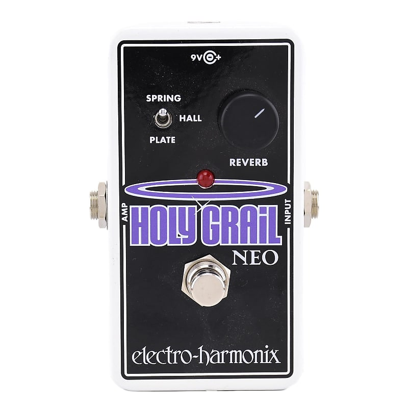 electro harmonix holy grail neo reverb pedal russo music reverb. Black Bedroom Furniture Sets. Home Design Ideas