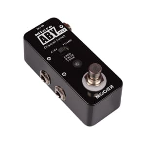 Mooer Micro ABY MK II Switcher Micro Guitar Effect Pedal True Bypass NEW