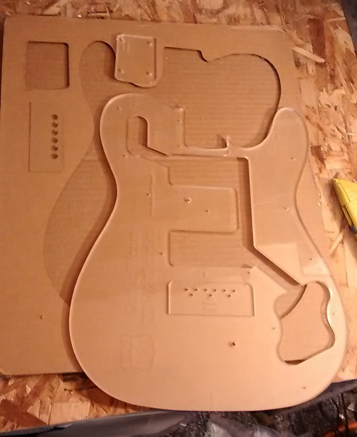 Custom Guitar Building Routing Template Telecaster Deluxe Reverb