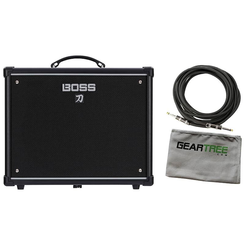 boss ktn 50 katana 50watt electric guitar amplifier bundle reverb. Black Bedroom Furniture Sets. Home Design Ideas