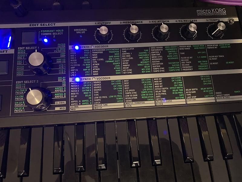 korg microkorg limited edition synthesizer vocoder super reverb. Black Bedroom Furniture Sets. Home Design Ideas