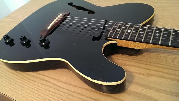 fender hmt thinline telecaster acoustic electric guitar reverb. Black Bedroom Furniture Sets. Home Design Ideas