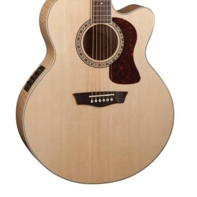Washburn J40SCE Heritage 40 Series Jumbo Acoustic Electric Guitar HJ40SCE-O-U for sale