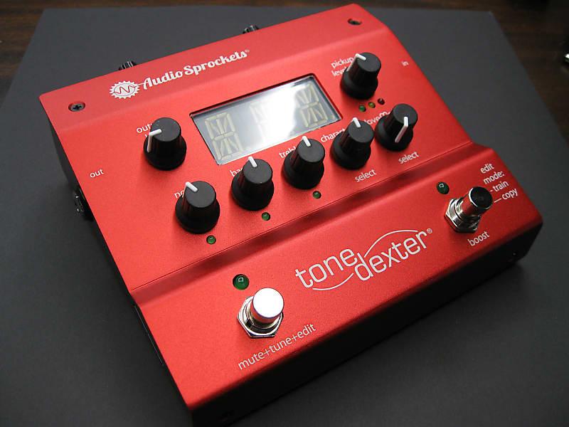 Audio Sprockets ToneDexter Acoustic Instrument Preamp Pedal