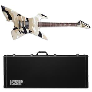 ESP Max Cavalera MAX RPR Black Desert Camo Satin BDCS Electric Guitar NEW + Hardshell Case! for sale