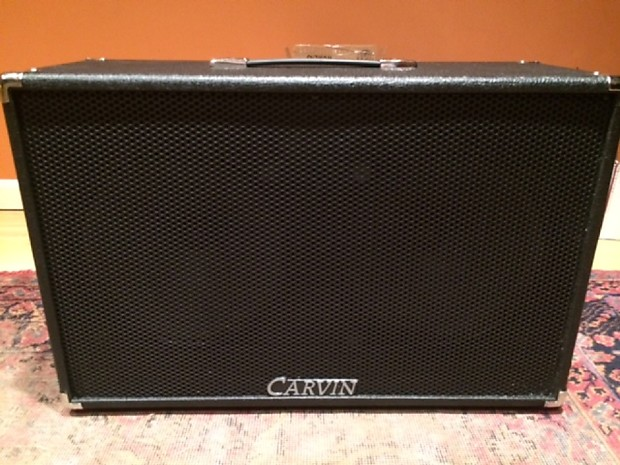 carvin vx212 2x12 speaker cabinet black closed or open reverb. Black Bedroom Furniture Sets. Home Design Ideas