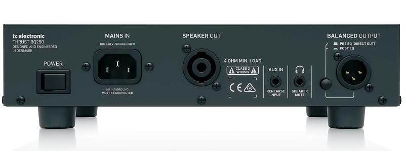 tc electronic thrust bq 250 250 watt compact bass head reverb. Black Bedroom Furniture Sets. Home Design Ideas
