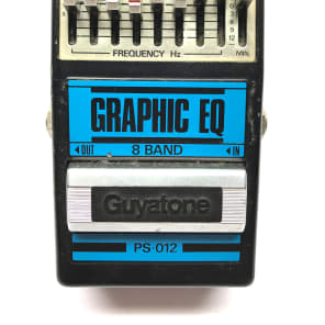 Guyatone PS-012, Graphic EQ, 8 Band, Made In Japan, 1980's, Vintage Effect for sale