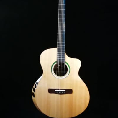 Merida Extrema Pallas cutaway solid Spruce/rosewood Acoustic guitar (Optional pickups can be added) for sale