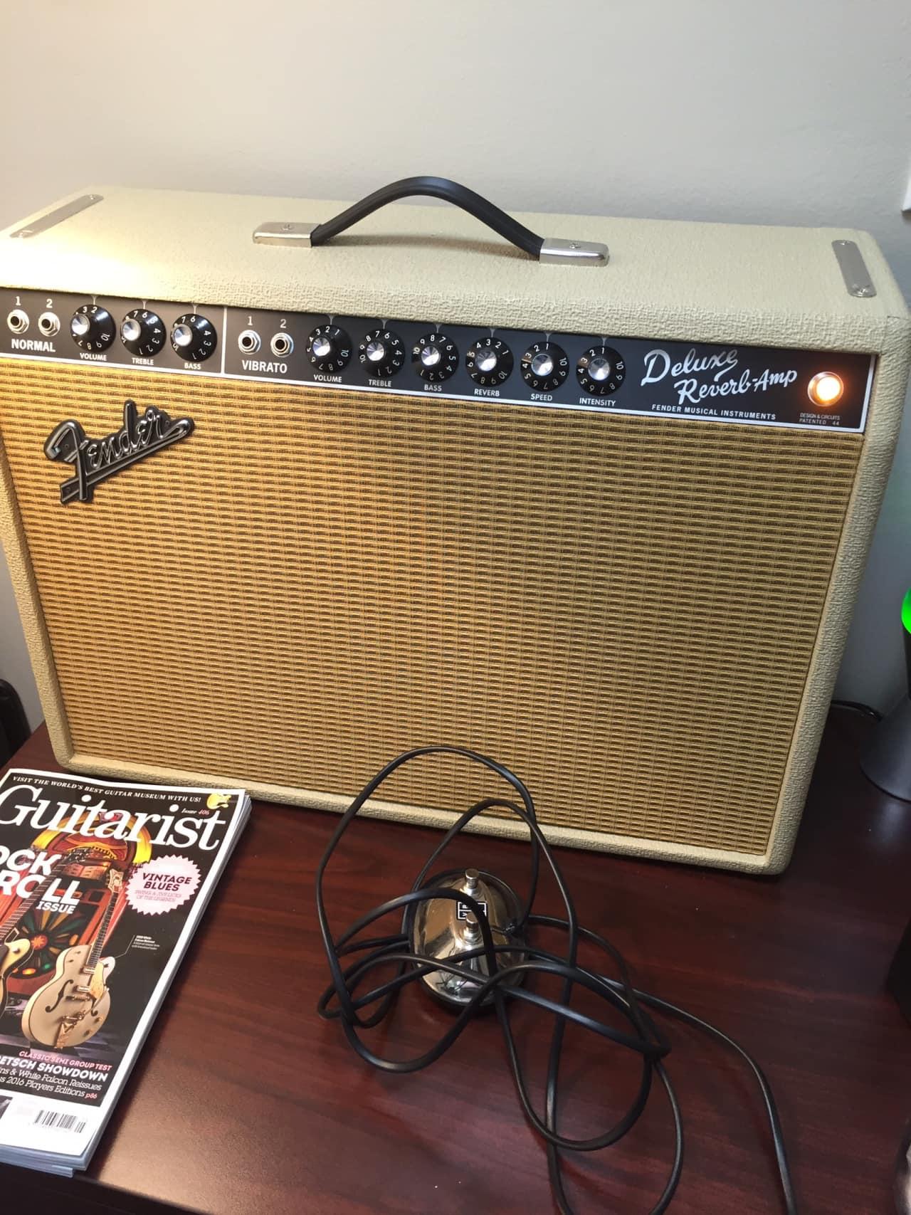 Fender deluxe reverb reissue user Manual on
