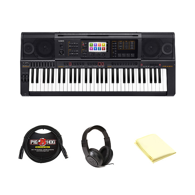 cb5387ba53e8 Casio MZ-X300 61-Key Digital Piano with Accessories