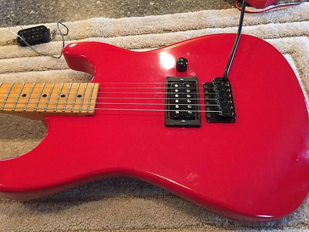 Charvel Jackson Model 1 guitar 1986-87? Red | Reverb