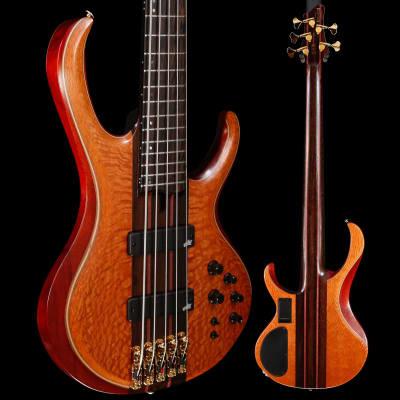 Ibanez BTB Premium 5str Bass, Florid Natural Low Gloss 227 9lbs 8.6oz for sale