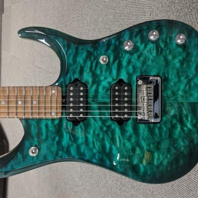 Sterling JP15 John Petrucci Signature w/ Roasted Maple Neck Teal Burst