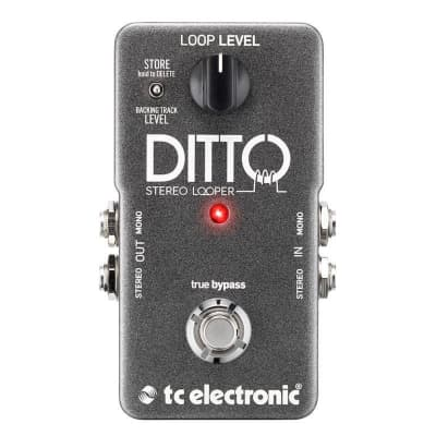 TC Electronic Ditto Stereo Looper Pedal, Ex-Display for sale